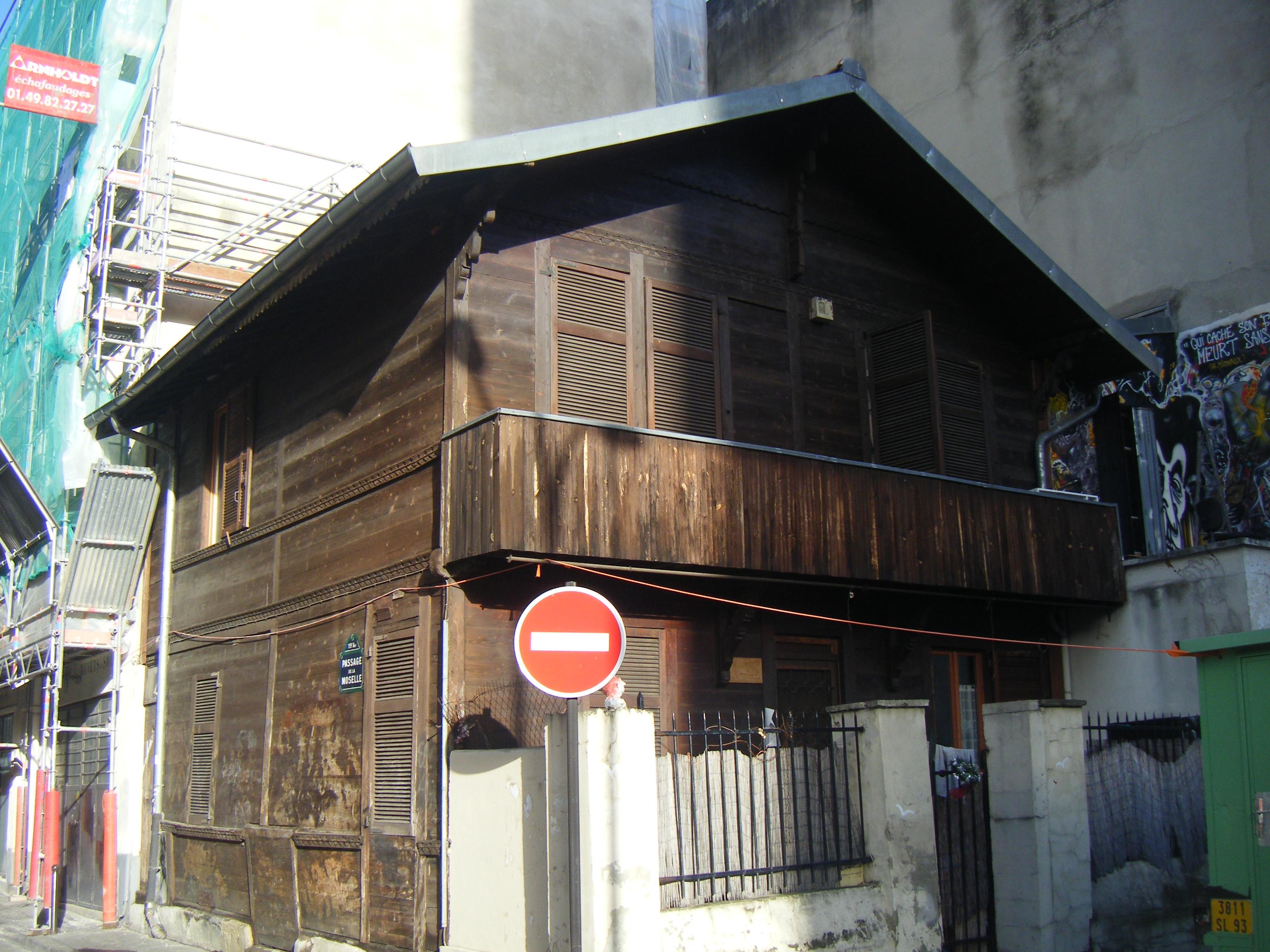 Chalet rue de Meaux