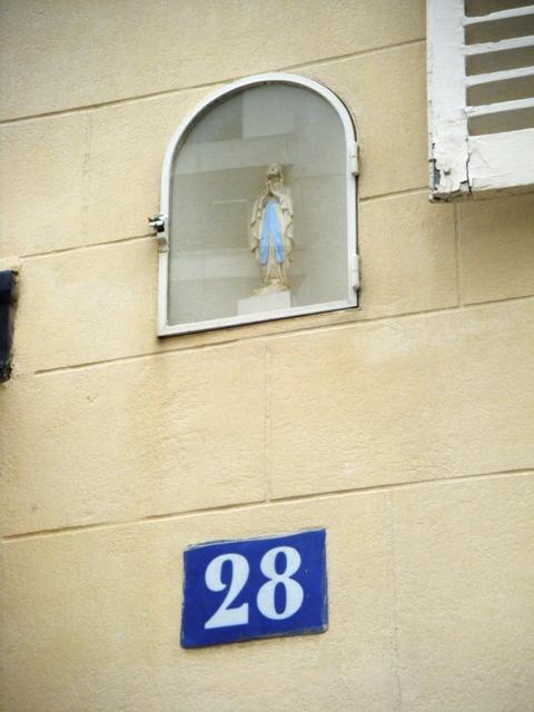 Vierge rue Tournefort 75005