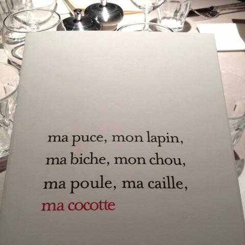 Restaurant ma cocotte la touche philippe starck saint ouen for Ma cocotte restaurant saint ouen