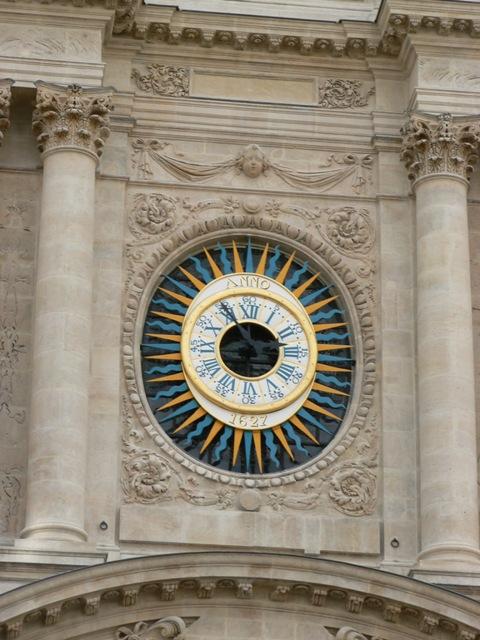 Horloge de l'église St Paul St Louis