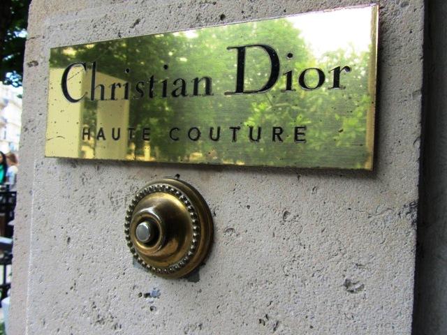 Ateliers de la Maison Dior