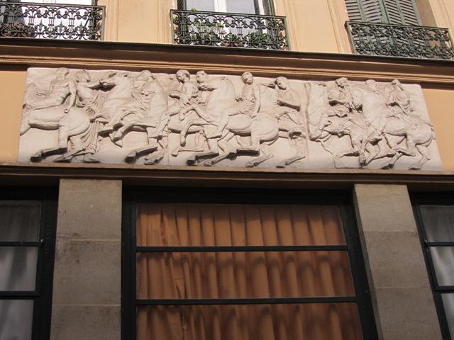 Chevaux de la Villa Saint Jacques