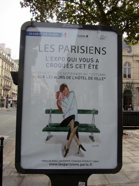 Les Parisiens L'Exposition en plein air