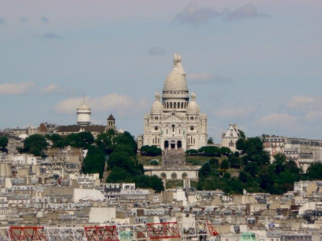 Paris vue depuis la Tour Saint Jacques