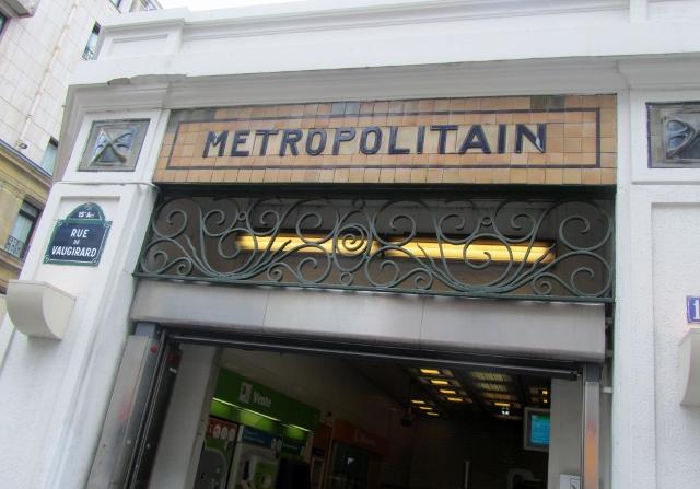 Volontaires (métro de Paris)