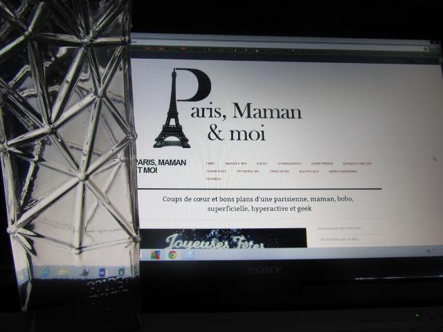 GBA 2013 Meilleur blog sur Paris
