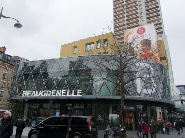 Le centre commercial Beaugrenelle
