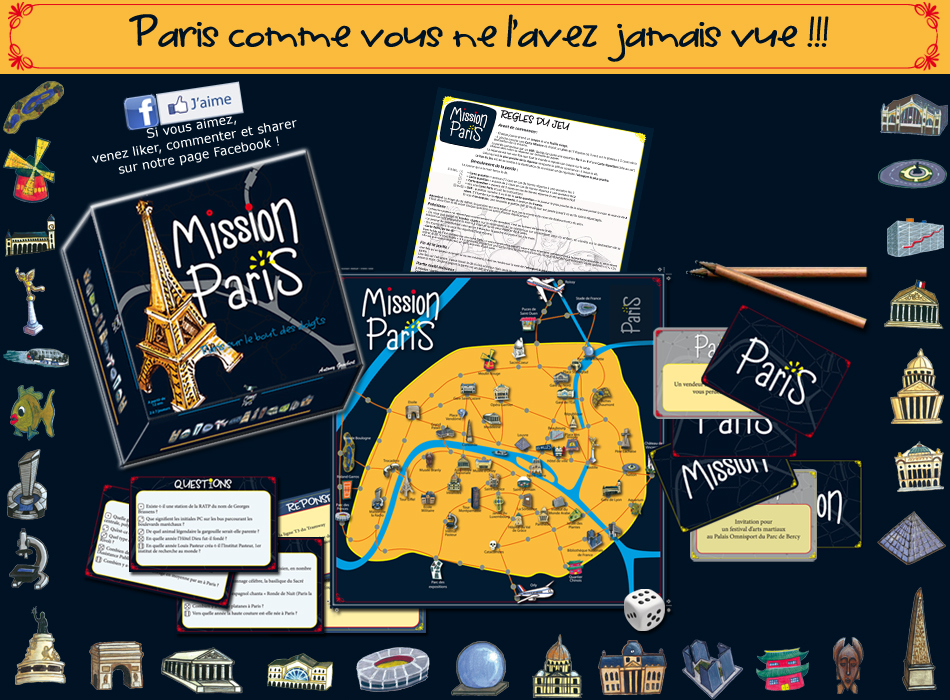 Jeu Mission Paris