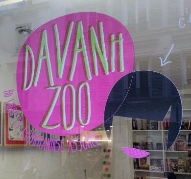 Davanh zoo le salon de th librairie cosy comme la maison - Salon de the librairie ...