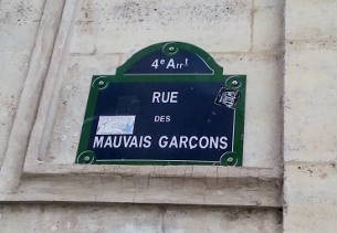 Rue des Mauvais Garçons