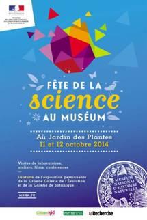 Fête de la science au Muséum - Jardin des Plantes