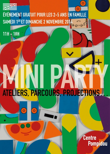 Mini Party au Centre Pompidou