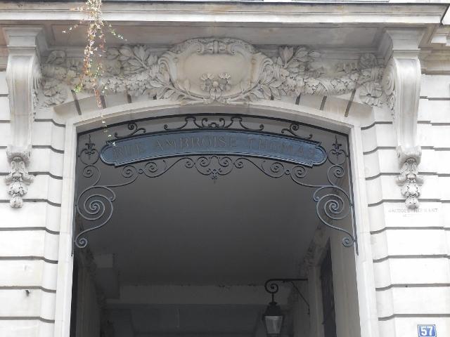 Rue Ambroise Thomas 75009