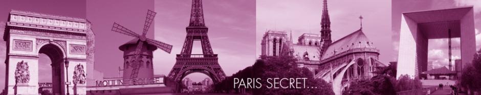 Bannière Paris Secret