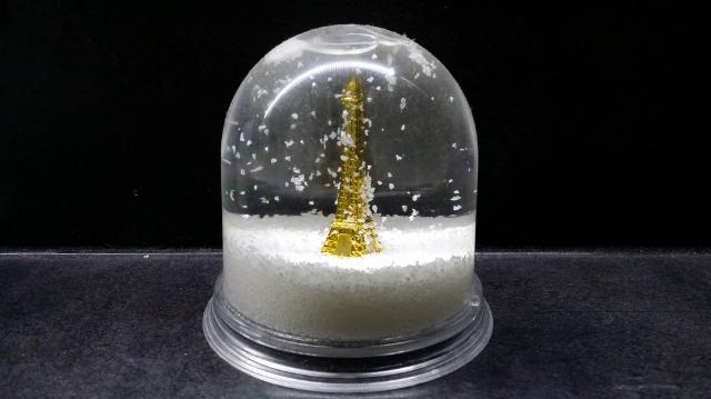 Boule de cristal de blogueuse parisienne