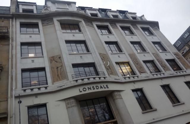 Immeuble Art Déco 34 rue Pasquier 75008