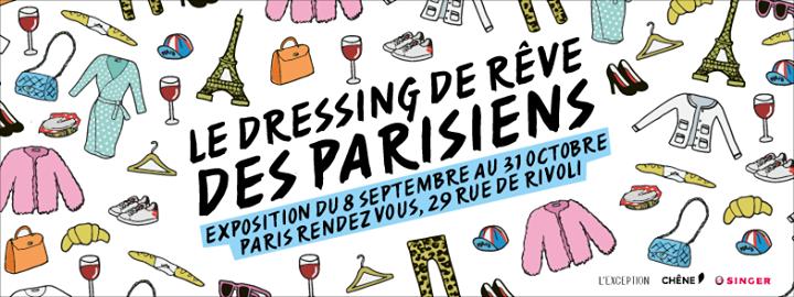 Le dressing de rêve des Parisiens