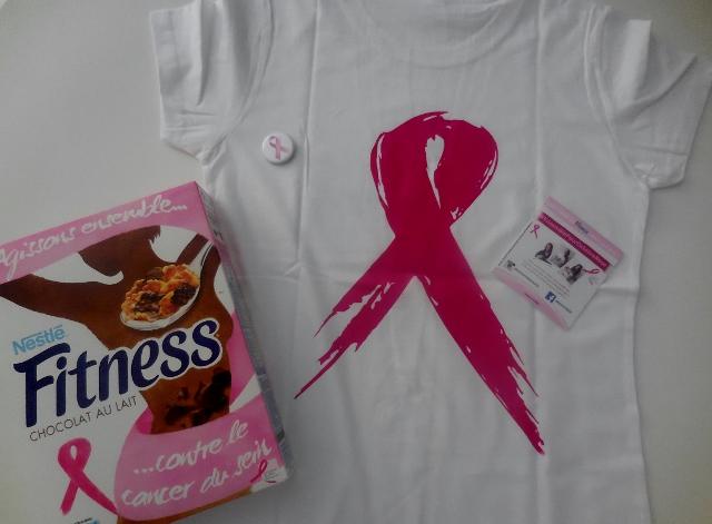 Nestlé Fitness soutient Le Cancer du sein Parlons-en