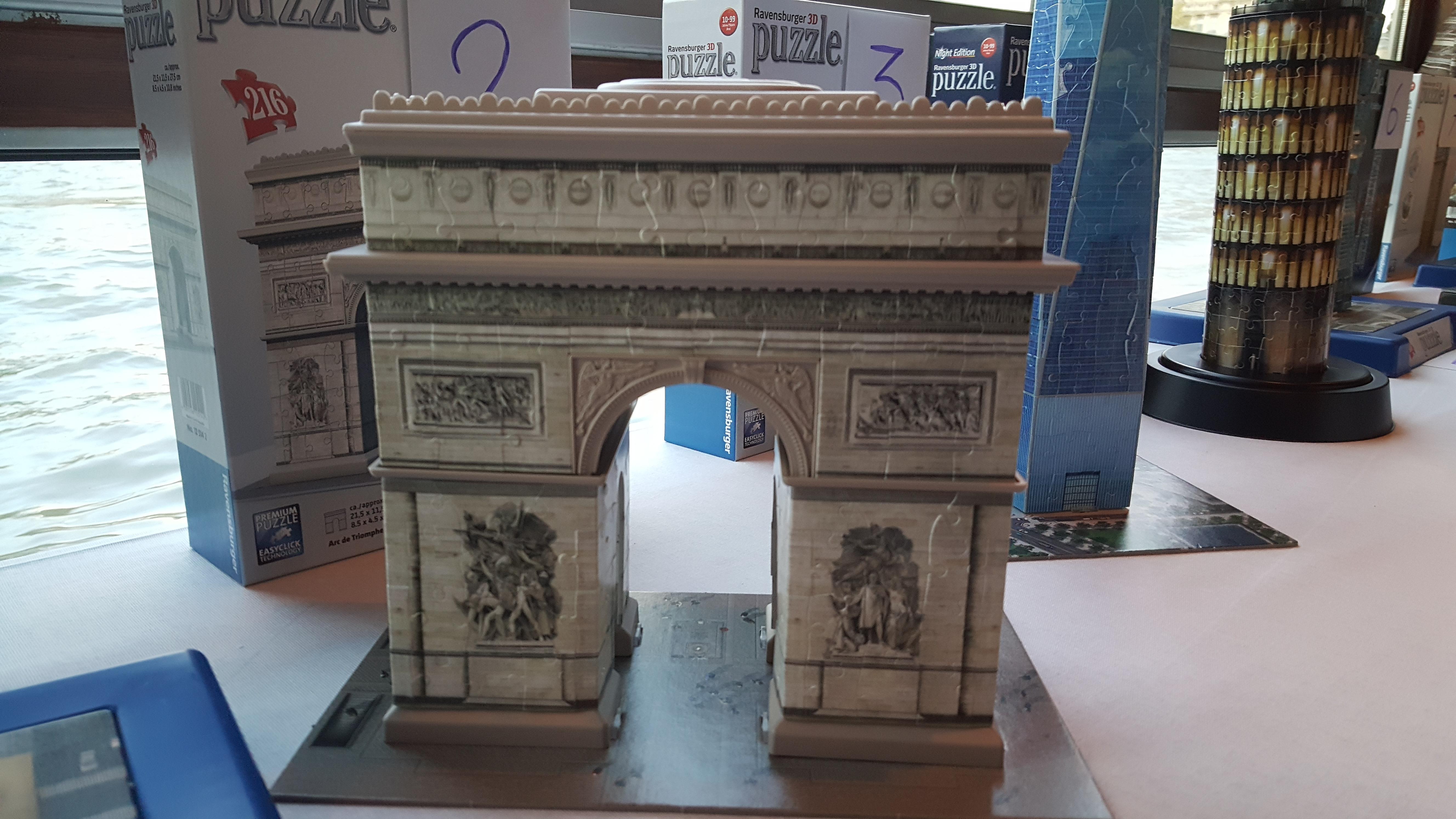 les puzzles 3d ravensburger des monuments de paris. Black Bedroom Furniture Sets. Home Design Ideas