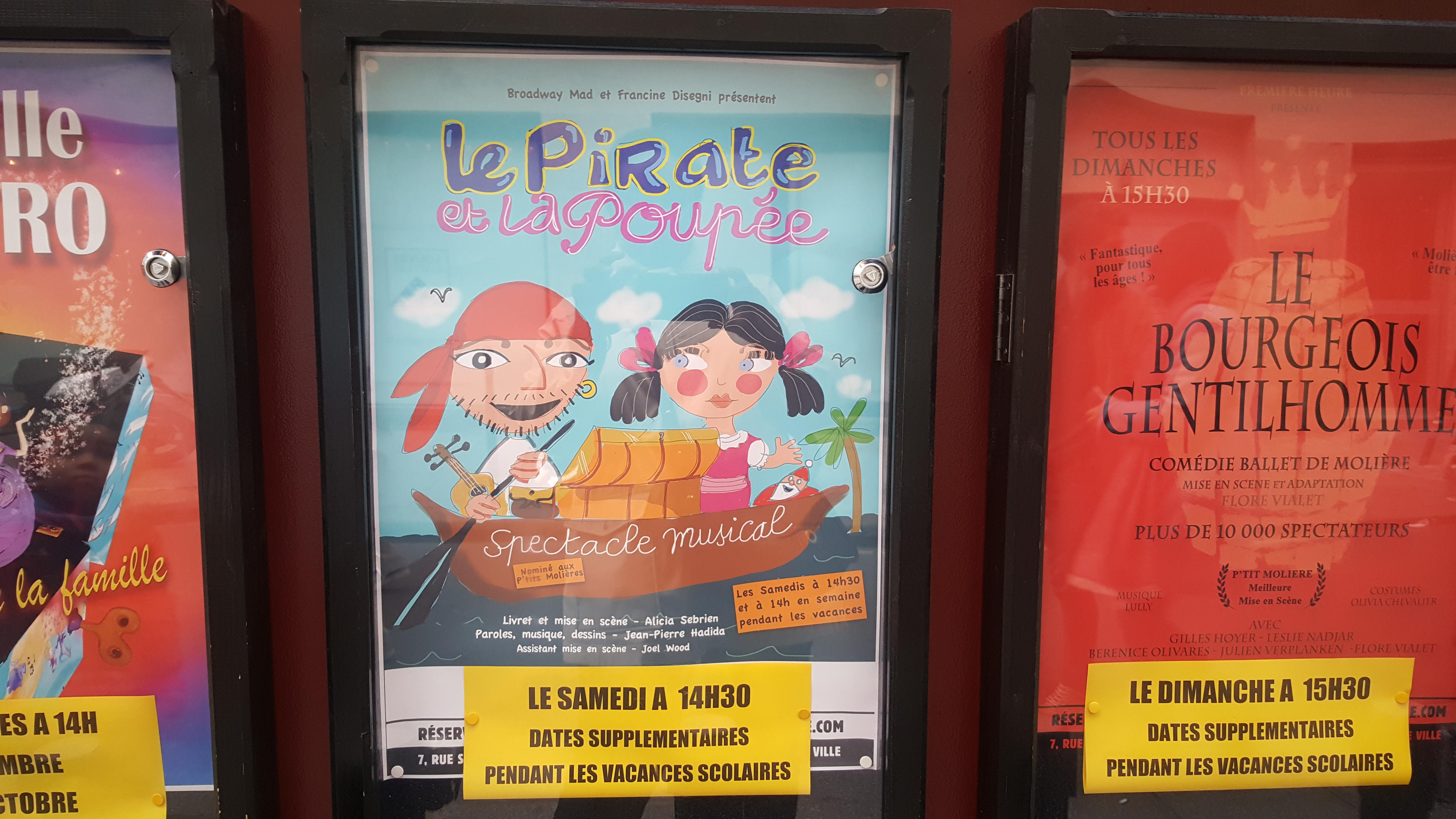 La programmation jeune public du Théâtre Point Virgule